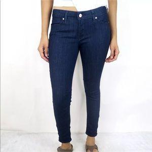 Levi's 711 Women's Blue Skinny Jeans Ankle Zip